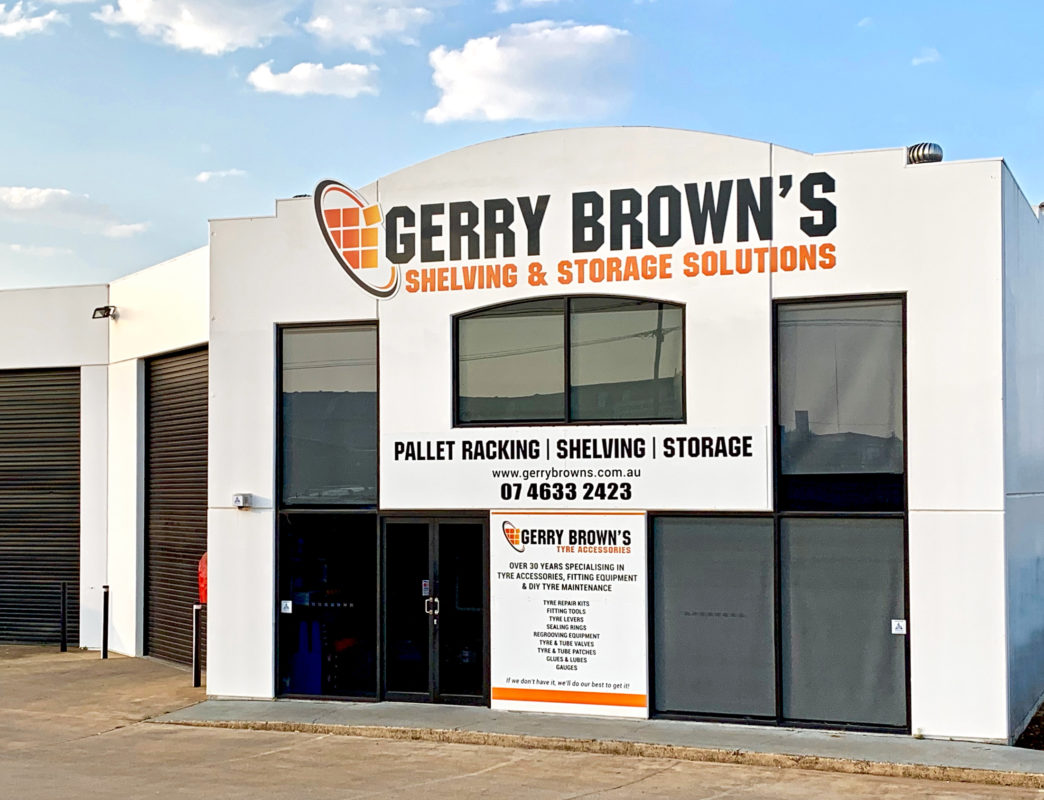 Gerry Browns Building