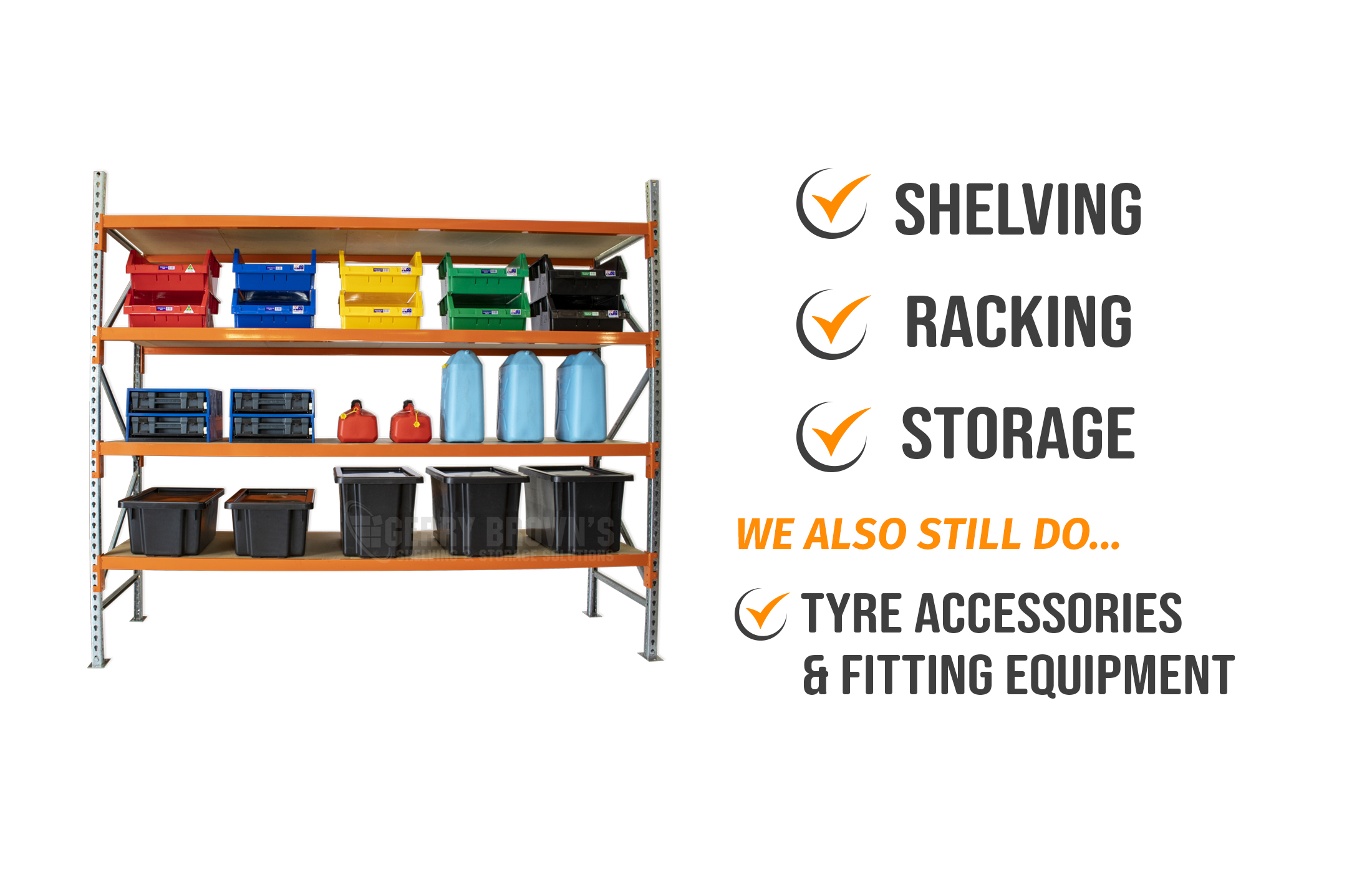 Gerry Brown's Shelving and Storage Solutions