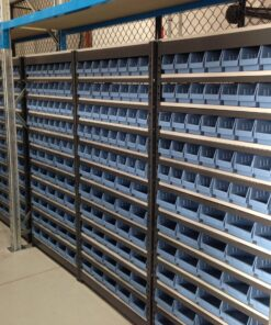 Rivet Bin Shelving Units -Tall