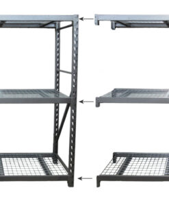 Gerry Brown's Shelving Industrial Shelving Kit T3 + Add-On Bay