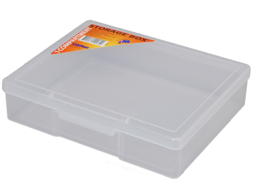 1H-029A - 1 Compt Clear Storage Box