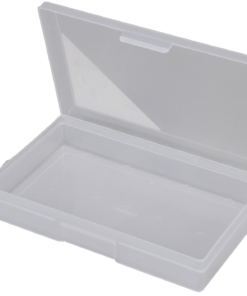 1H-031B - 1 Compt Clear Storage Box Open