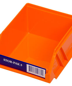 Orange 1H-060O Fischer Plastics Stor-Pak 5