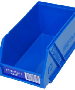Blue 1H-061B Fischer Plastics Stor-Pak 10