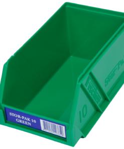 Green 1H-061G Fischer Plastics Stor-Pak 10