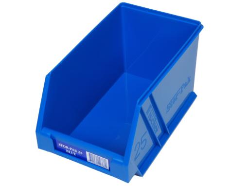 Blue 1H-062B Fischer Plastics Stor-Pak 25