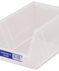 Clear 1H-062C Fischer Plastics Stor-Pak 25