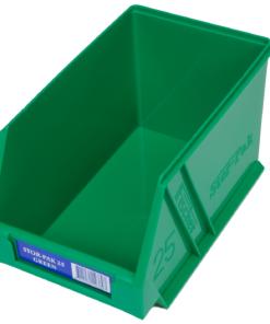 Green 1H-062G Fischer Plastics Stor-Pak 25
