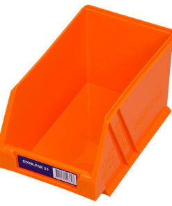Orange 1H-062O Fischer Plastics Stor-Pak 25