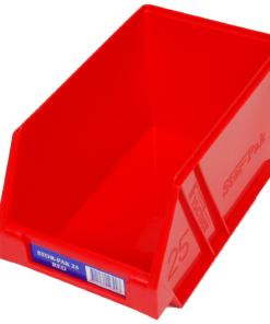 Red 1H-062R Fischer Plastics Stor-Pak 25