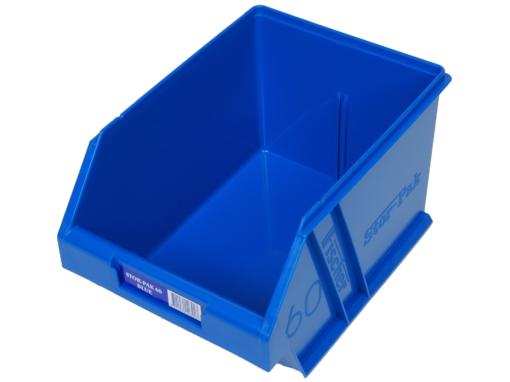 Blue 1H-063B Fischer Plastics Stor-Pak 60