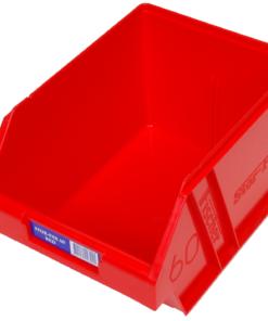 Red 1H-063R Fischer Plastics Stor-Pak 60