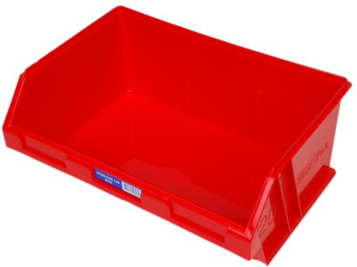 Red 1H-064R Fischer Plastics Stor-Pak 120