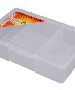 1H-090a 3 Compt Large Deep Storage Box