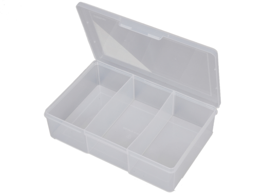 1H-090b 3 Compt Large Deep Storage Box