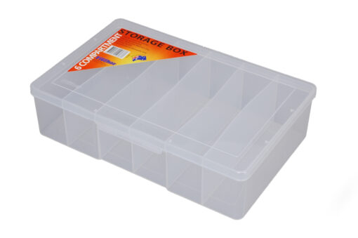 1H-095a - 6 Compt Clear Large Deep Storage Box