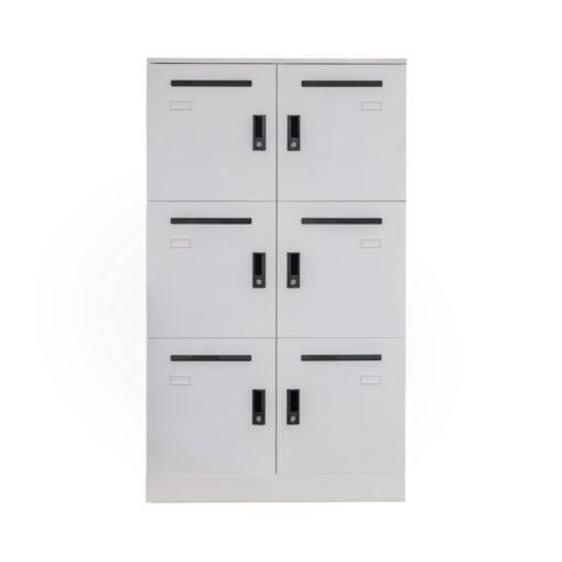 Steel Office Locker 6 Unit