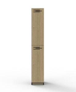 2 Door Locker - Melamine
