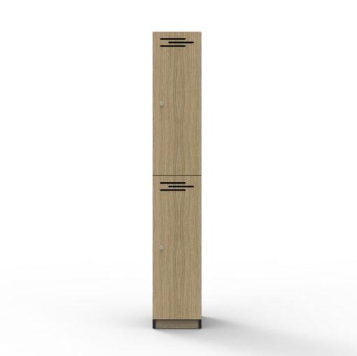 2 Door Locker - Melamine