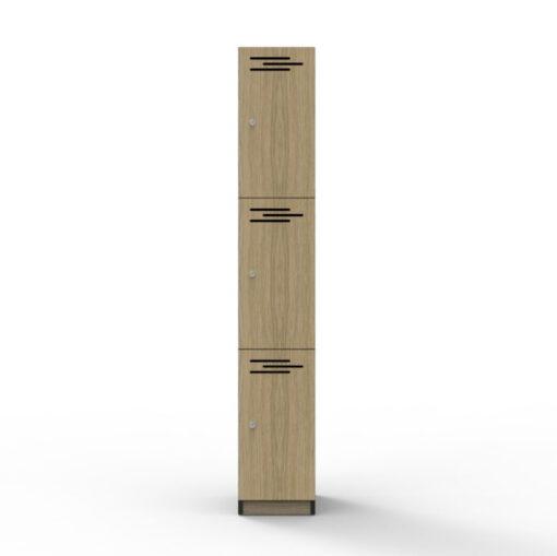 3 Door Locker - Melamine