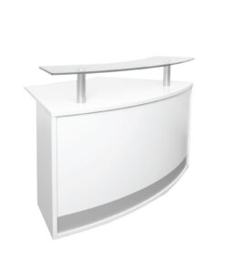 Modular Reception Counter Glass Top
