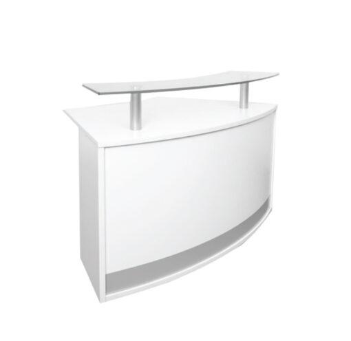 Modular Reception Counter Glass Top